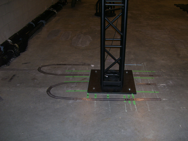 Infrared Thermography and Ground Penetrating Radar Used Together to map rebar and radiant tubes prior to excavation