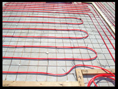 Concrete Scanning - Radiant Tubes